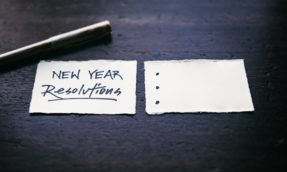 New Years Resolutions For 2021